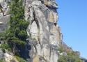 paddleboarding beneath granite rocks of DL Bliss State Park