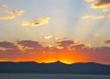 sunset over Rubicon Peak