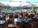 best deck overlooking downtown Truckee, Cottonwood Restaurant