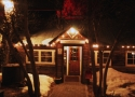entrance to the Cottonwood Restaurant Truckee CA