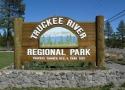 Truckee River Regional Park sign