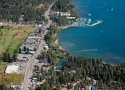 Tahoe City aerial